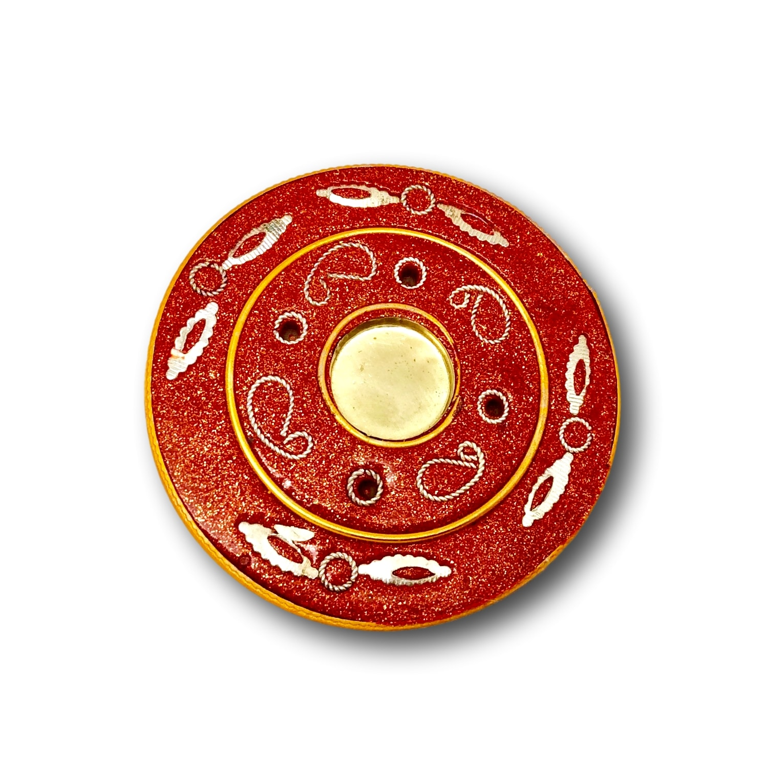 Orange Disk Burner